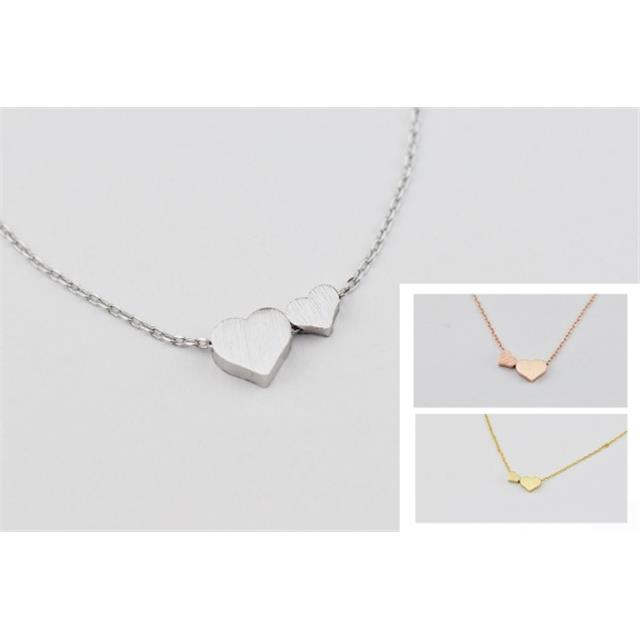 2 Hearts Necklaces