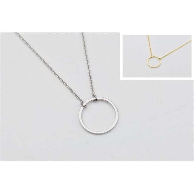 verižice krog circle necklaces