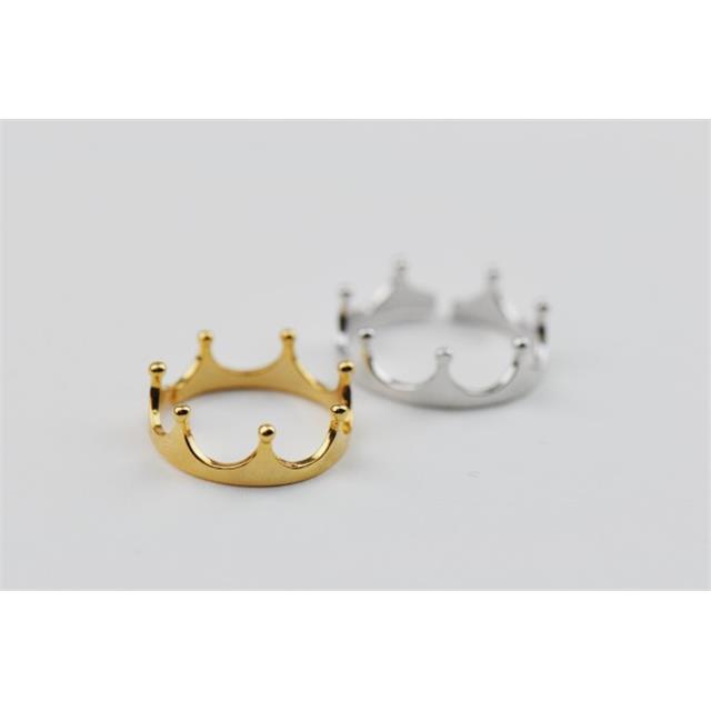 nastavljivi prstani krona crown adjustable rings
