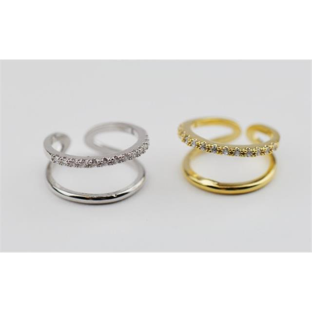 Adjustable Knuckle Rings - Double Persian