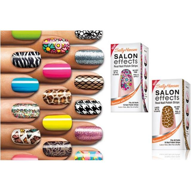 Sally Hansen Salon Effects Real Nalepke za Nohte